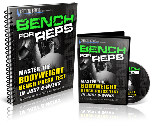 Bench For Reps Program