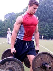 Brian Cushing Workout