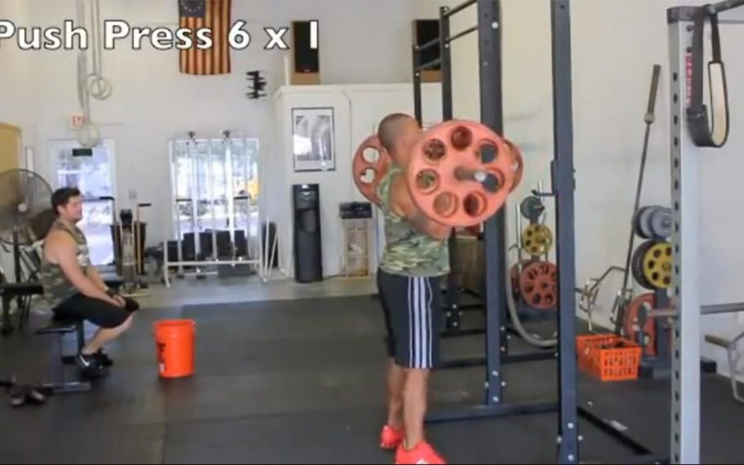 Explosive Football Workout