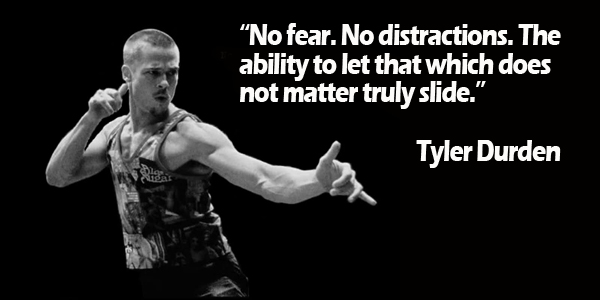 No fear. No distractions. The ability to let that which does not matter truly slide.-mammoth-strength