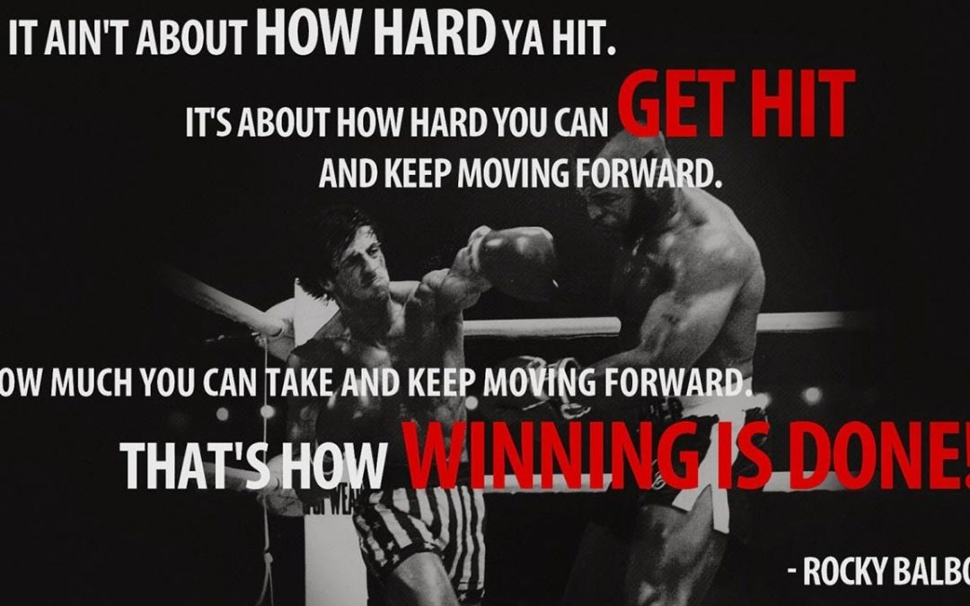 Keep Moving Forward Because That´s How Winning is Done!