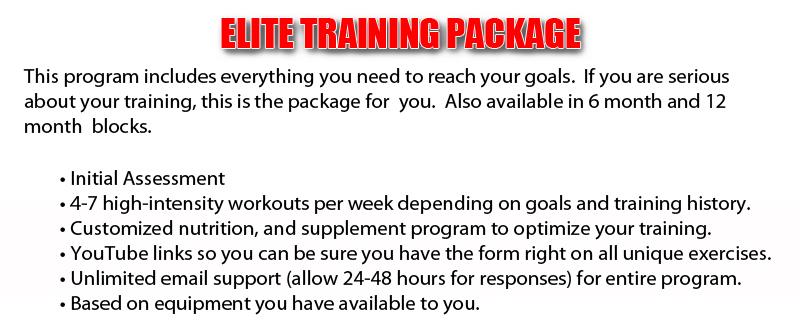Training-Package-Elite