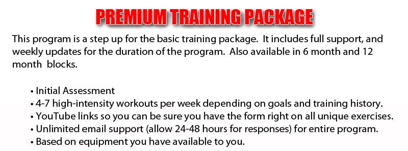 Training-Package-Premium